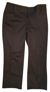 Express Capri/Cropped Pants Brown