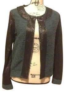 BCBGeneration Sequins Soft Comfortable Long Sleeve Metallic Nwt Cardigan