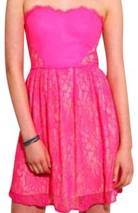 Urban Outfitters Lace Neon Hot Prom Dress