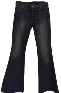 JOE'S Flare Leg Jeans-Distressed