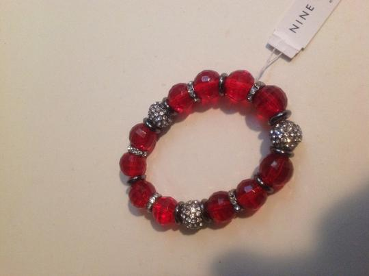 Nine West Red Pave Crystal