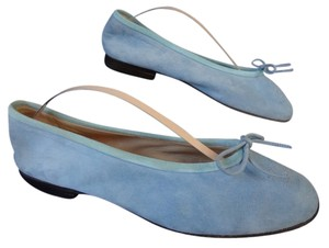 Chanel LIGHT BLUE Flats