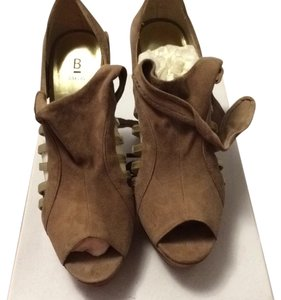 Bakers Taupe Platforms