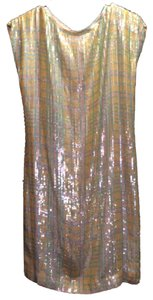 Escada Vintage Sequin Plaid Newyearseve Party Dress