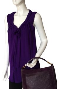 Marc Bouwer Neck Tie Top Purple