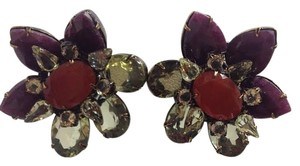 iRADJ Moini NEW SIGNED IRADJ MOINI BEAUTIFUL RUBY CITRINE EARRINGS