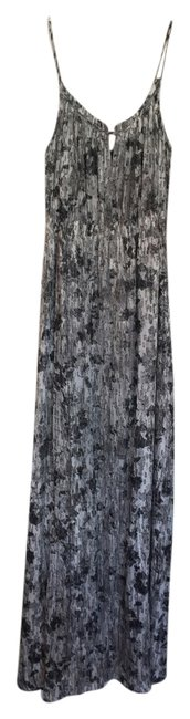 Item - Black White and Grey Musea Printed Long Casual Maxi Dress Size 2 (XS)