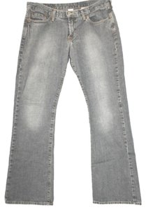 Lucky Brand Cotton Denim Straight Leg Jeans-Medium Wash