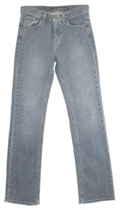 DKNY Straight Leg Jeans-Medium Wash