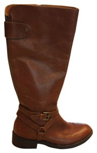 Enzo Angiolini Leather Tan Boots