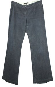 Theory Stretchy Cotton Denim Relaxed Fit Jeans-Dark Rinse