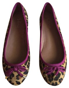 Eloire Flats Black/brown Leopard Flats