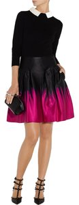 MILLY Mini Skirt Fuchsia