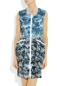 Alexander Wang short dress Blue Floral Cargo Printed on Tradesy