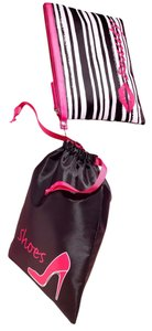 Other 2 Pc Cosmetic and Matching Shoe Travel Bag