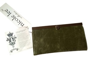 Nicole Lee Olive Wallet Clutch
