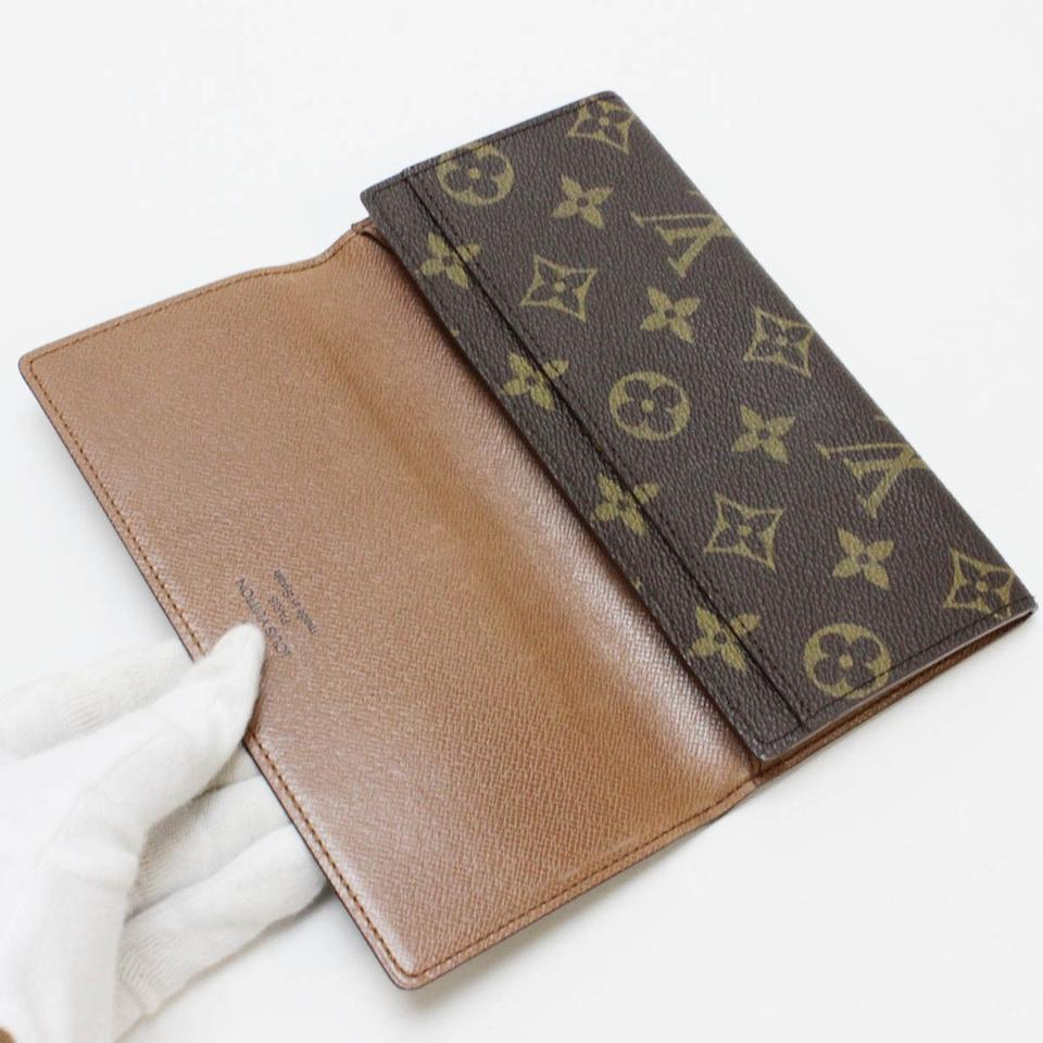 Louis Vuitton Brown Porte Cartes Credit Yen Monogram Bifold Wallet - Porte carte credit