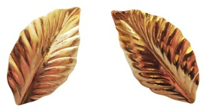 Louis Feraud Louis Feraud Woodland Leaf Earrings