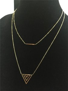 Gorgeous Stainless Steel Bar & Arrow Necklace