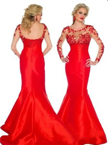 Mac Duggal Couture Evening Gown Dress