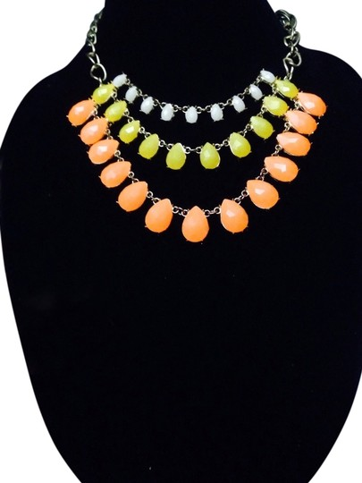 Preload https://img-static.tradesy.com/item/869771/not-rated-multi-colored-white-yellow-and-orange-drop-necklace-0-0-540-540.jpg