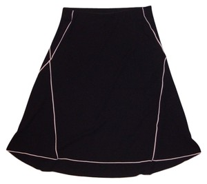 Max Studio Skirt Black/Pink