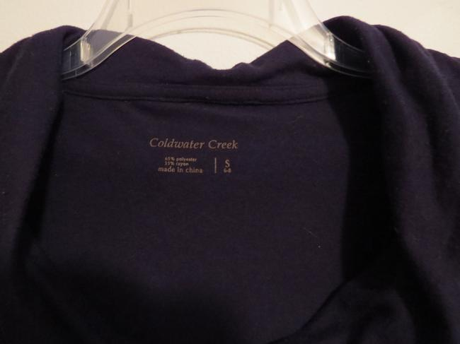 Coldwater Creek Top Navy