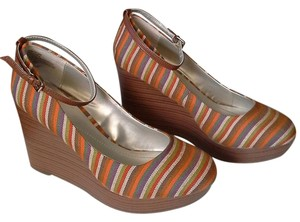 Apt. 9 Stripe Stripe Multicolored Multicolor multicolored stripes Wedges