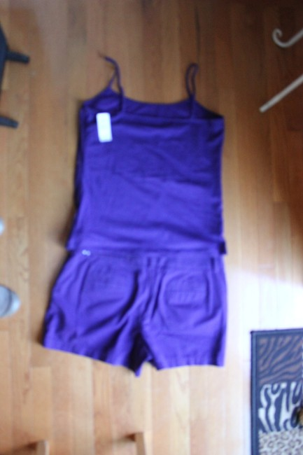 Ann Taylor LOFT Ann Taylor Loft short and T shirt set Top is NWT Tags Image 1