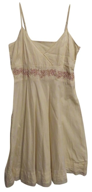 Wet Seal short dress Cream on Tradesy