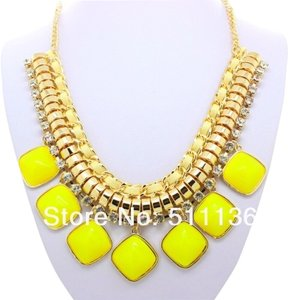 0 Degrees Yellow Necklaces