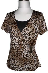 Notations Top Leopard Print