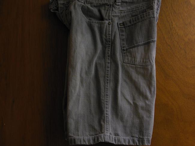 South Pole Collection Stonewash Machine Washable Boys Bermuda Shorts Gray