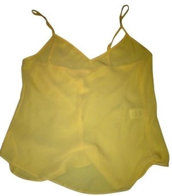 Preload https://item2.tradesy.com/images/rebecca-taylor-yellow-tank-topcami-size-6-s-871-0-0.jpg?width=400&height=650
