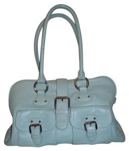 The Limited Satchel in mint green