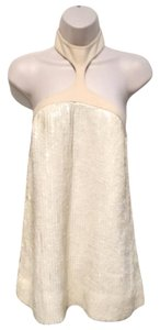 Marc Jacobs Runway Sequin Top Ivory