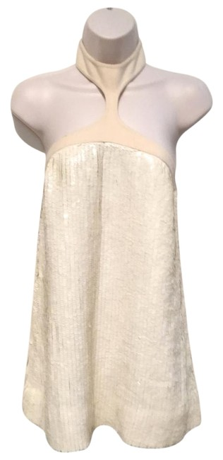 Marc Jacobs Runway Sequin Cashmere Rare Top Ivory