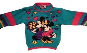 Disney Girl Mickey Minnie Sweater