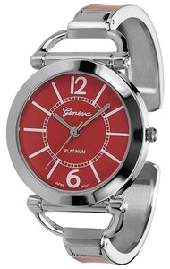 Schwarz Geneva Platinum Women's Color Block Cuff Watch