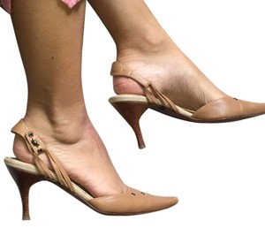 Bottega Veneta Nude Pumps