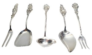 Other Reed & Barton Sterling Silverplate High Tea [ Roxanne Anjou Closet ]