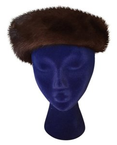 Bonwit Teller Brown Mink Hat