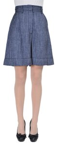 VIKTOR & ROLF Skort Blue/White/Gray/Black