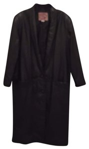International leather collection Vintage Trench Coat