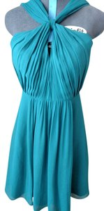 Ann Taylor Silk Halter Spring Wedding Guest Dress