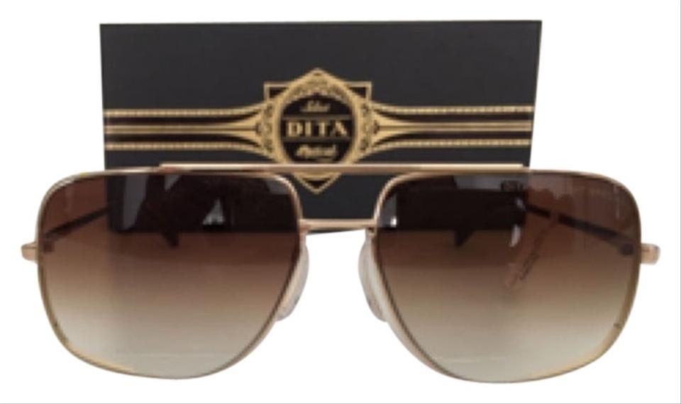 4044a6af0df Dita Gold Midnight Special Sunglasses - Tradesy