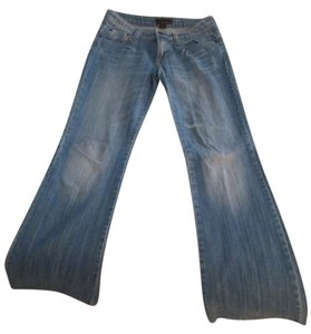 Urban Behavior Boot Cut Jeans-Light Wash