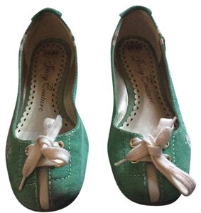 Juicy Couture green Flats