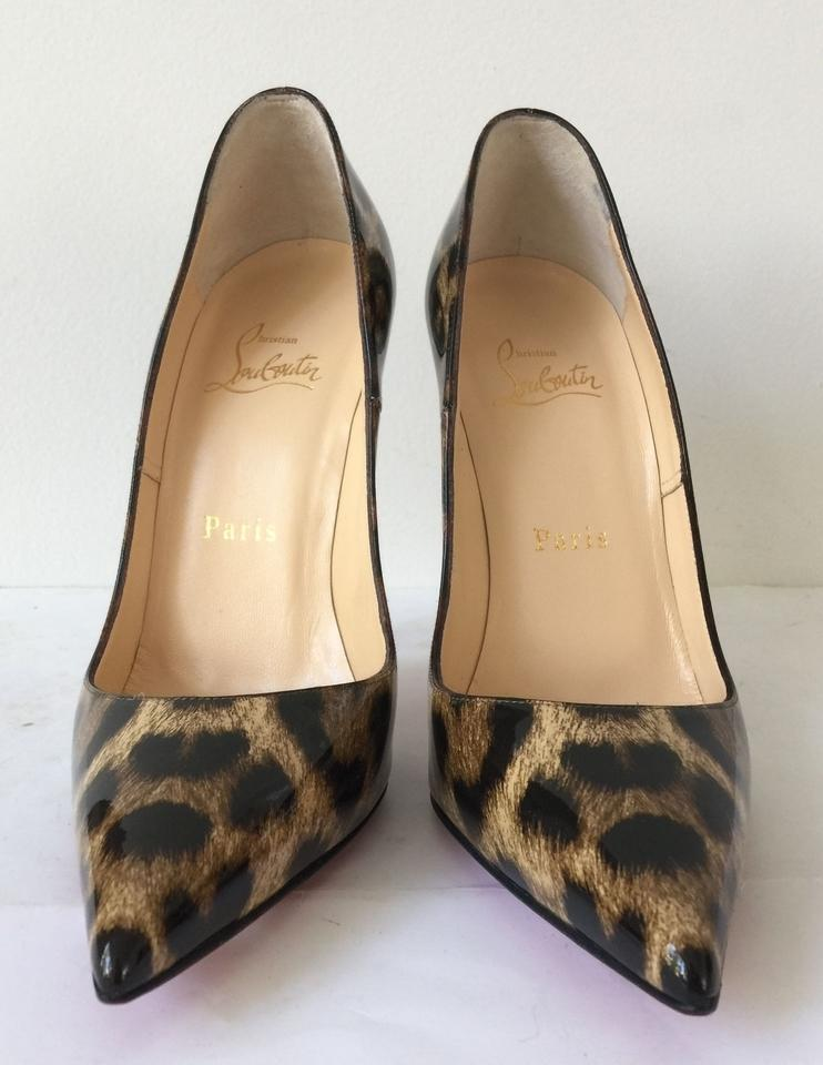 7fa6cf29af45 Christian Louboutin So Kate 120mm 120 Leopardino 50s Leopard Print Animal  Black Patent Leather Pigalle Follies. 12345