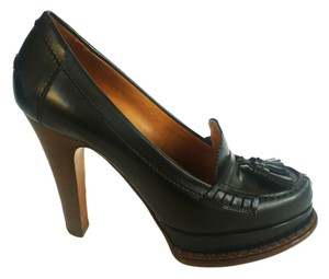 Saint Laurent Ysl Pump Oxford Black Pumps